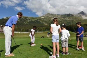 Meribel -  Stage de golf Junior 5 jours / 10 hrs (6 - 12 ans)