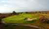 New Kuta Golf hole 18 sunset