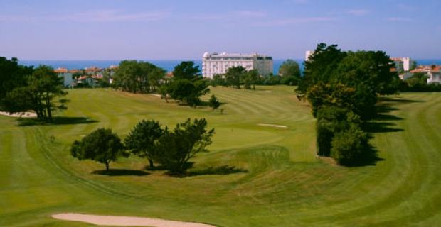 stage golf du pays basque biarritz 4 jours 3 golfs carte verte egf. Black Bedroom Furniture Sets. Home Design Ideas